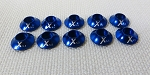 Xessories Blue Anodized Washer set