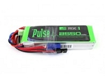 PULSE LIPO 2550mAh 7.4V 15C - Receiver Battery with JR and EC3