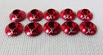 Xessories Red Anodized Washer set