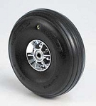 Kavan - 4 inch scale treaded wheel - PAIR