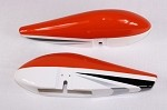 "104"" AJ Slick - Wheel Pants - Orange"