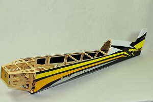 "3D Hobby Shop - 61"" Extra 330 LT Fuselage - Yellow/Black"