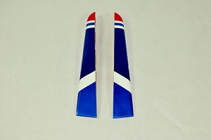 "3D Hobby Shop - 61"" Extra 330 LT Wing Tips - Red/Blue"