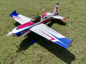 "3D Hobby Shop - 60"" Slick 580 V2 - Red/White/Blue"
