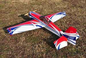 "3D Hobby Shop - 61"" Extra 300 LT - Red / Blue"