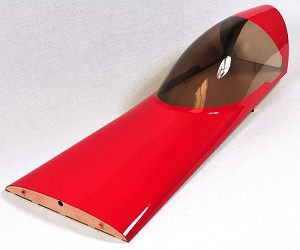 "3D Hobby Shop - 92"" Edge 540 - Canopy Hatch --Red"