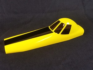 "Legacy Aviation - 44"" Turbo Duster Canopy - Yellow"
