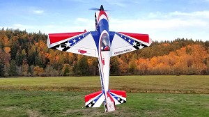 "Extreme Flight - 91"" LASER-EXP - Printed Red/White/Blue"