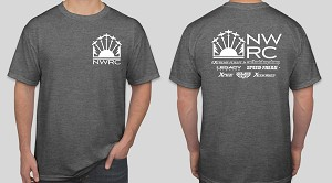 NWRC T-Shirt Grey - EXTRA LARGE