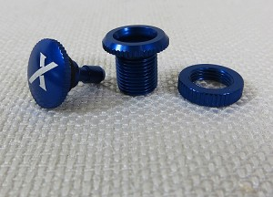 Xessories Anodized Fuel Dot - Blue