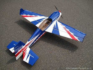"Extreme Flight - 60"" Extra 300 - Blue/Red/White"
