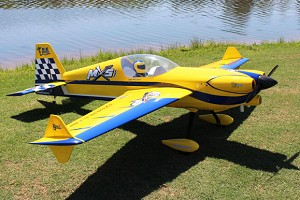 "Extreme Flight - 104"" MXS-EXP - Blue / Yellow Scheme"