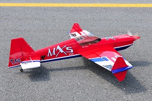 "Extreme Flight - 64"" MXS-EXP - Red/White/Blue"