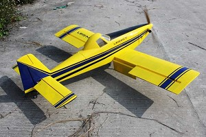 "Legacy Aviation - 65"" Turbo Duster - Blue / Yellow Scheme"