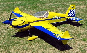 "Extreme Flight - 76"" MXS EXP - Yellow - ELECTRIC"