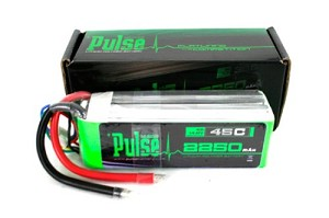 PULSE LIPO 2250mAh 11.1V 45C - ULTRA POWER SERIES