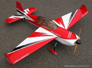 "Extreme Flight - 60"" Extra 300 - Red/White/Black"