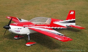 "Extreme Flight - 78"" Extra 300 - Red/White/Black - GAS"