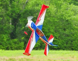 "Extreme Flight - 60"" Edge 540T-EXP - Red/White/Blue"