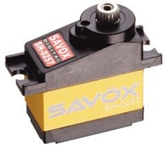 Savox SH-0257MG - The best digital/metal gear micro servo!