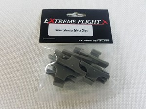 Extreme Flight - Servo Safety Clips 10/pk