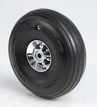 Kavan - 5 inch scale treaded wheel - PAIR