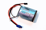 Thunder Power 4000mah 7.4V 20C LiPo Receiver Battery with JR and EC3