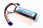 Thunder Power 5600mah 7.4V 20C LiPo Receiver Battery with JR and EC3