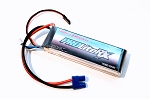 Thunder Power 2800mAh 7.4V 20C LiPo Receiver Battery with JR and EC3