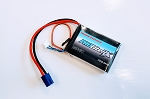 Thunder Power 1350mAh 7.4V 20C LiPo Receiver Battery with JR and EC3