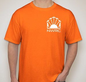 NWRC T-Shirt Orange - XL