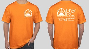 NWRC T-Shirt Orange - LARGE