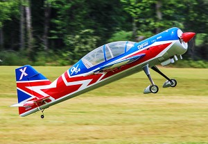 "EF - 110"" Yak 54 V2 - Red/White/Blue"