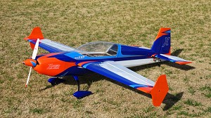 "EF - 78"" Extra 300 V3 - Orange/Blue"