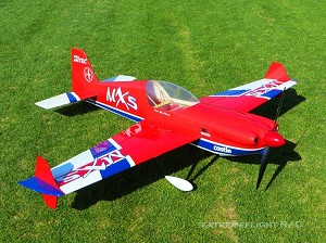 "EF - 76"" MXS EXP - Red/Blue - GAS"